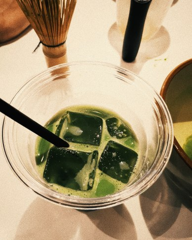 Matcha workshop at Tsujiri House on Rupert Street